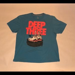 "Jordan shirt ""three deep"""